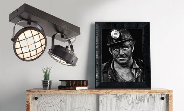 Industriele Lampen Outlet : Industriele lampen vloer en hanglamp industrieel