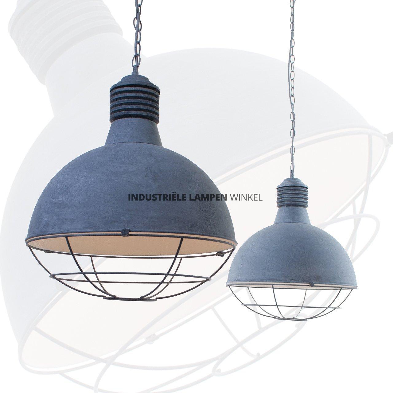 Dubbele hanglamp industrieel dubbele rvs hanglamp zonder for Kleine industriele hanglamp