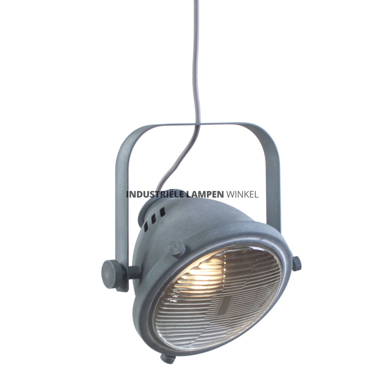 Industriele lamp betonlook with industriele lamp betonlook for Staande lamp betonlook